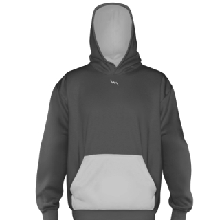 Charcoal Gray Basketball Sweatshirts