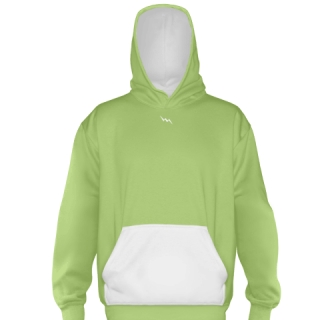 Lime Green Basketball Sweatshirts