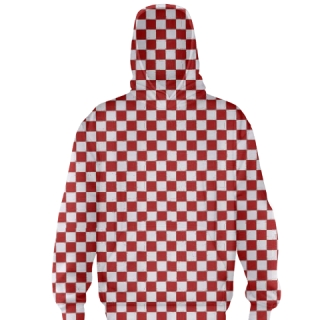 Red Checker Board Basketball Sweatshirts