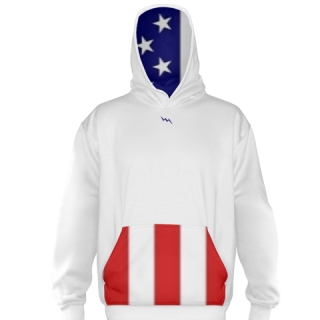 American Flag Basketball Sweatshirts