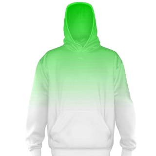 Green Fade Basketball Sweatshirts