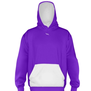 Purple Field Hockey Sweatshirts