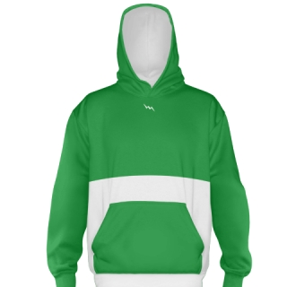Kelly Green Soccer Sweatshirts