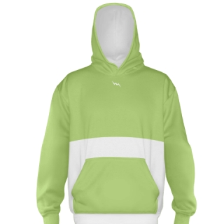 Lime Green Soccer Sweatshirts