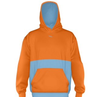 Orange Soccer Sweatshirts
