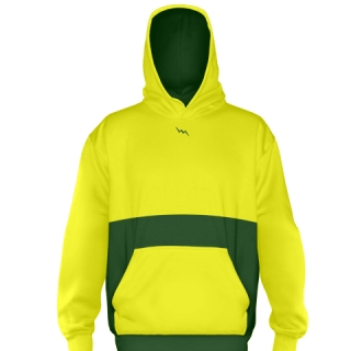 Yellow Custom Soccer Sweatshirts