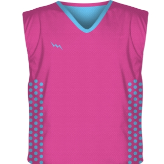 Hot Pink Hockey Pinnies
