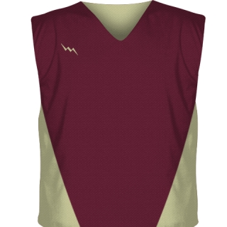 Maroon Hockey Pinnies