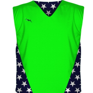 Neon Green Hockey Pinnies