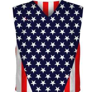 Stars and Stripes Hockey Pinnies