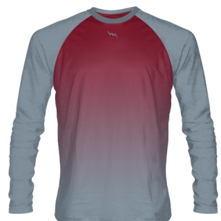 Boys Long Sleeve Football Shirts