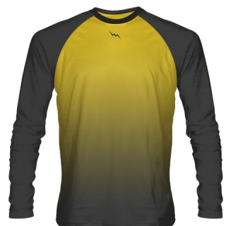 Charcoal Grey Long Sleeve Football Shirts