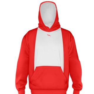 Red Ice Hockey Sweatshirts