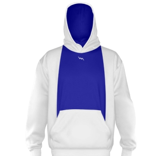 White Ice Hockey Sweatshirts