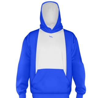 Royal Blue Ice Hockey Sweatshirts