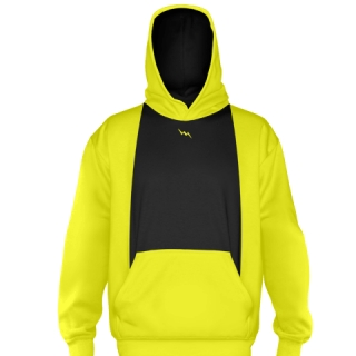 Yellow Ice Hockey Sweatshirts