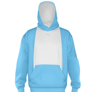 Powder Blue Ice Hockey Sweatshirts