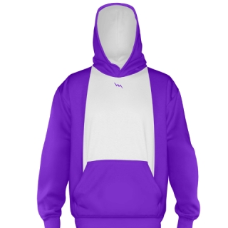 Purple Ice Hockey Sweatshirts