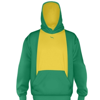 Kelley Green Ice Hockey Sweatshirts