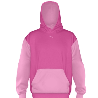 Hot Pink Ice Hockey Sweatshirts