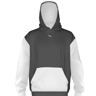 Charcoal Gray Ice Hockey Sweatshirts