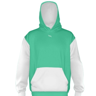 Teal Ice Hockey Sweatshirts