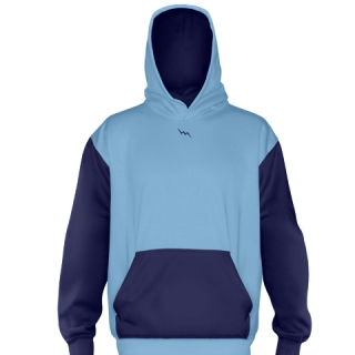 Light Blue Ice Hockey Sweatshirts