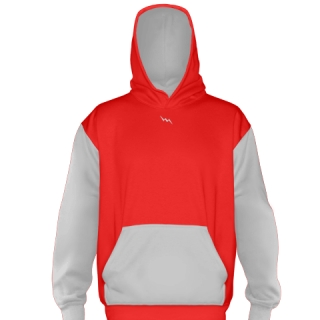 Red Football Sweatshirts