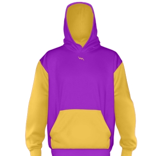 Purple Football Sweatshirts