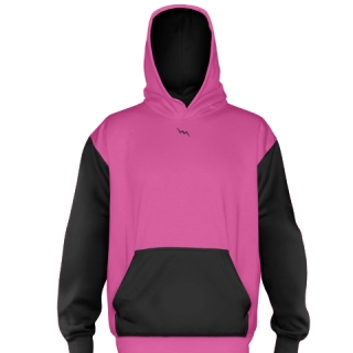 Hot Pink Football Sweatshirts