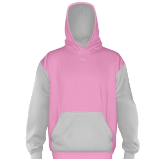 Custom Pink Football Sweatshirts