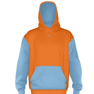 Orange Football Sweatshirts