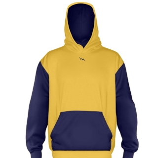 Athletic Gold Football Sweatshirts