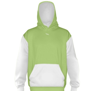 Lime Green Football Sweatshirts