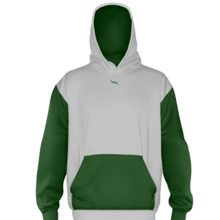 Dark Green Football Sweatshirts
