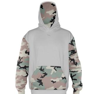 Green Camouflage Football Sweatshirts