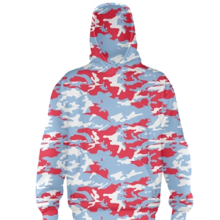Red Camouflage Football Sweatshirts