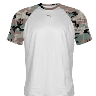 Camo Basketball Shooting Shirts