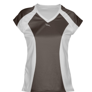 Brown Womens Lacrosse Shirts