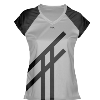 Gray Womens Lacrosse Shirts