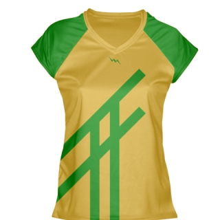 Kelly Green Lacrosse Shirts Girls