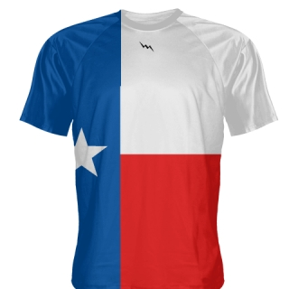 Custom Texas Flag Shooter Shirts