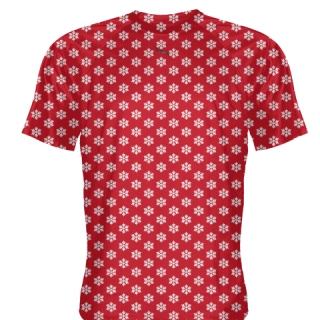 Red Snowflake Shirts - Christmas Shirts