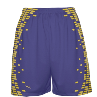 Purple Basketball Shorts Custom
