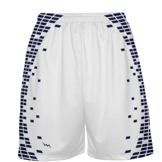 Custom White Basketball Shorts