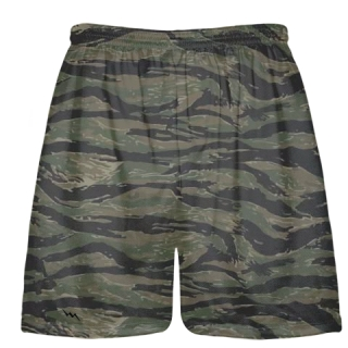 Tiger Camouflage Shorts