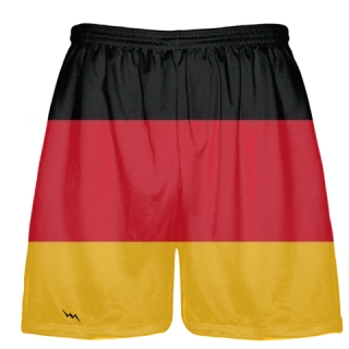German Flag Shorts - Germany Flag Short