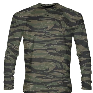 Tiger Camouflage Long Sleeve Shirt