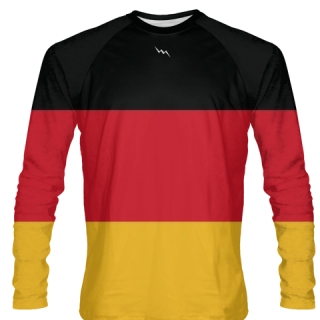 German Flag Long Sleeve Shirt