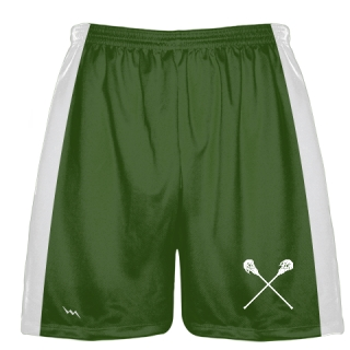 Forest Green Lacrosse Short